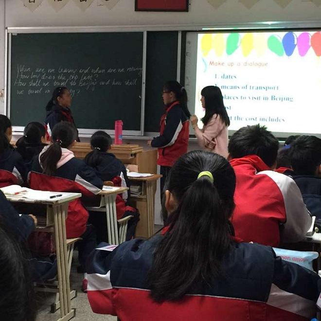 宝山区中学英语教学协作联盟活动在行知实验中学举行